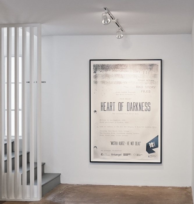 Fiona Banner, The Greatest Film Never Made, 2012, graphite on paper, 67 x 45.6 in, 170 x 116 cm