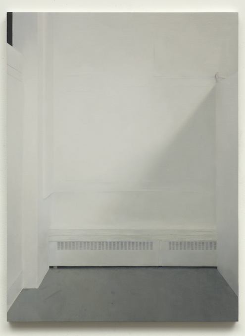 Paul Winstanley, Art School 23, 2014, Oil and wax on canvas over panel, 25.2 x 18.9 in, 64 x 48 cm