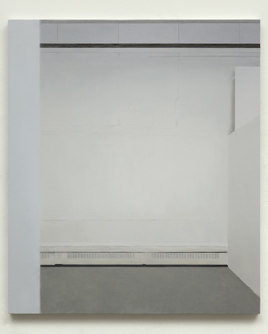 Paul Winstanley, Art School 27, 2014, Oil and wax on canvas over panel, 23.3 x 21.7 in, 64.4 x 55.2 cm