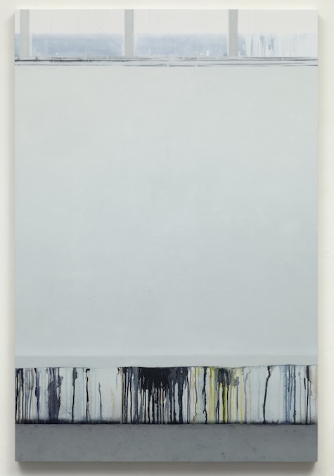 Paul Winstanley, Art School 4, 2013, Oil and wax on canvas over panel, 56.7 x 37.8 in, 144 x 96 cm