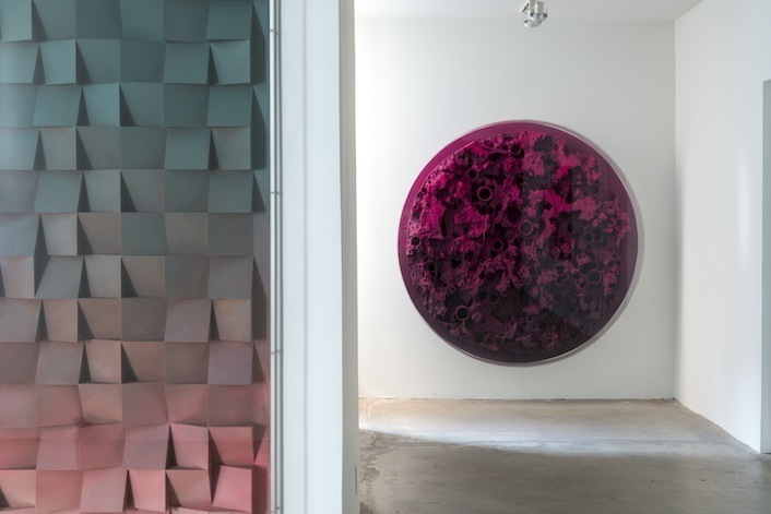 Install view. Jan Albers, Henry Hurt vs. Holly Heal, 15 March - 26 April 2014, 1301PE. Los Angeles, CA.