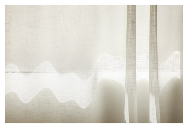 Uta Barth, and to draw a bright white line with light (Untitled 11.3), 2011, inkjet print face-mounted against matte acrylic, framed in painted aluminum frame, 38 x 57 inches, 96.5 x 144.8 cm