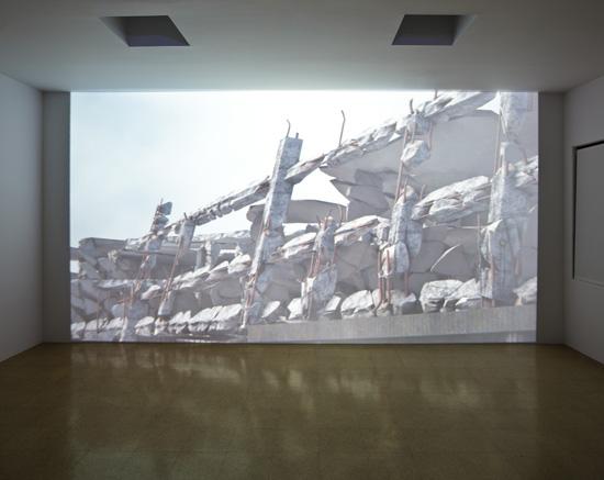 SUPERFLEX, Modern Times Forever (Stora Enso Building, Helsinki), 2011 3D photorealistic animation