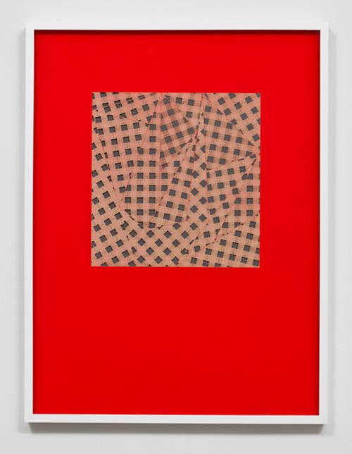Pae White, Gingham Phosphenes, 2011