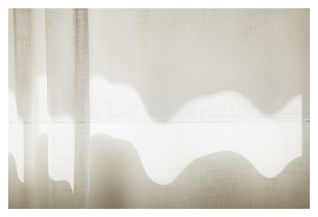 Uta Barth, ...and to draw a bright white line with light (Untitled 11.9), 2011 inkjet print face-mounted against matte acrylic, framed in painted aluminum frame 38 x 57 inches