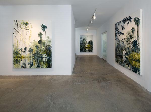 Kirsten Everberg, Installation view, 2011