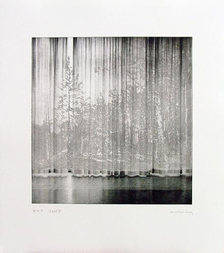 Paul Winstanley, Veil 5, 2008, Hand-drawn sugar lift aquatints with photo-etching