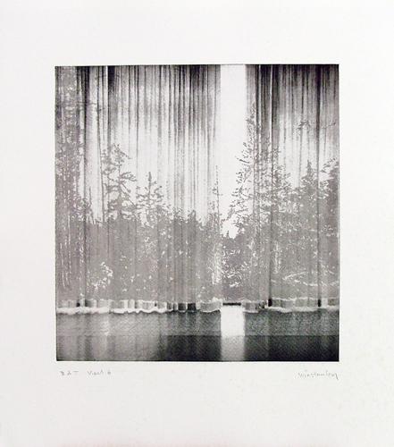 Paul Winstanley, Veil 6, 2008, Hand-drawn sugar lift aquatints with photo-etching