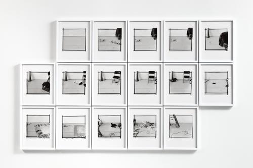 Uta Barth, Every Day, 1979-82/2010, Inkjet print, 16 framed photographs, 9 x 11 1/2 in.