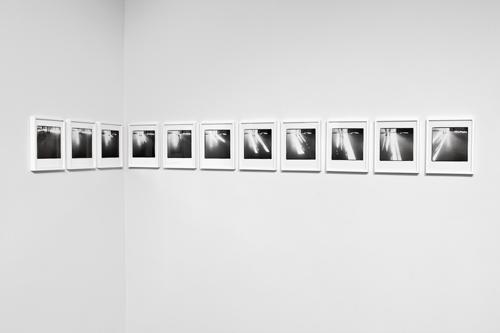 Uta Barth, One Day, 1979-82/2010, Inkjet print, 11 framed photographs, 9 x 11 1/2 in.