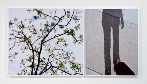 Uta Barth, Untitled, 2010, Mounted color photographs, 2 panels; 41 1/4 in x 46 1/2 in, 41 1/4 x 32 1/4 in.