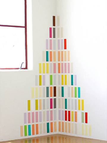 Jorge Mendez Blake, Study for a Marx Library 1, 2009, Acrylic on wall, 59 x 46 3/4 in. (149.9 x 118.7 cm)