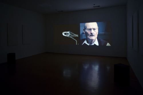 Kerry Tribe, H.M., 2009, Dual 16mm film projection