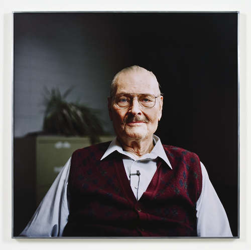 Kerry Tribe, H.M., 2009, C-type print, 30 x 30 in.