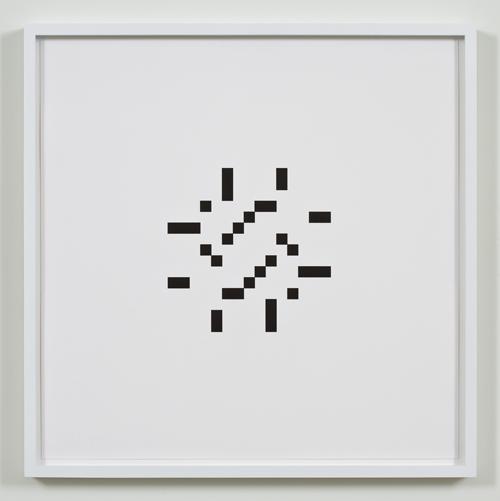Kerry Tribe, Untitled (July 15, 1961), 2009, Letterpress print, 17 x 17 in.