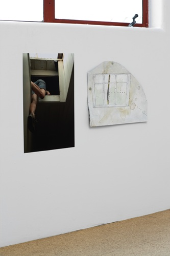 Kate Newby, Yesterday afternoon, 2008, Watercolor on tin, photograph, 11.02 x 14.17 in, 28 x 36 cm