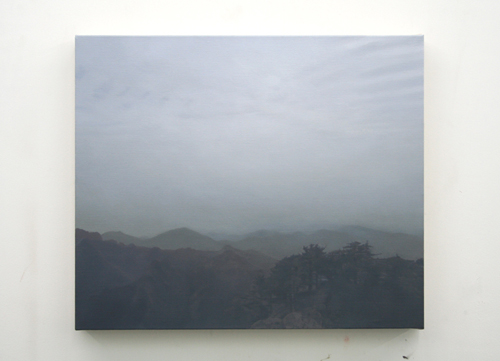 Paul Winstanley, Evening in the Mountains, 2007, Oil on linen, 16 3/4 x 19 in. (42.5 x 48.3 cm)