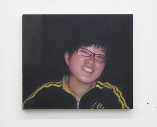 Paul Winstanley, Xiao Hu, 2007, Oil on linen, 16 3/4 x 19 in. (42.5 x 48.3 cm)
