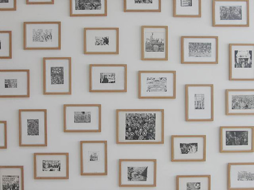 Demonstration Drawings, Installation view, 2006