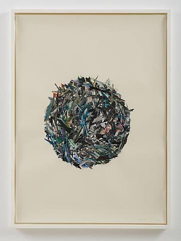 Fiona Banner, Birds, 2005, Collage, 35 1/4 x 47 3/4 in. (89.5 x 121.3 cm)