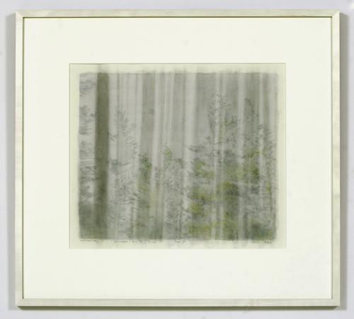 Paul Winstanley, Window ont he Pines 1, 2005, Watercolor, 43 x 51 cm
