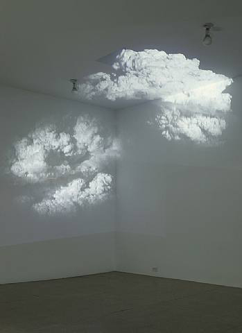 White is the color, Installation view, 2004