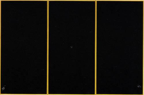Jack Goldstein, Untitled, 1979, Oil on masonite, 84 1/2 x 133 in.