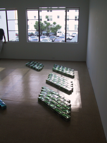 Fire n N'ice, Installation view, 2003