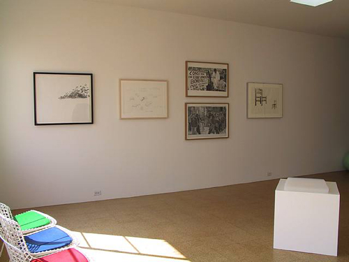 Drawings, Installation view, 2003