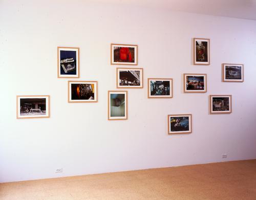 Rirkrit Tiravanija, Portfolio #1 (Installation view), 2000