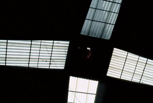 Rirkrit Tiravanija, Untitled (roof), 1998-99, Ultra glossy c-print on vinyl frame in MDF, 20 1/2 x 14 3/4 in.