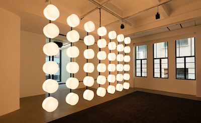Philippe Parreno turns exhibition spaces into the exhibition, at the Rockbund Art Museum  in Shanghai. Photography: © Andrea Rossetti 2017