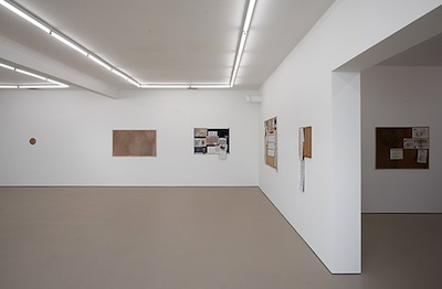Fiona Connor,  Brick, Cane and Paint , 2016, installation view: Hopkinson Mossman, Auckland