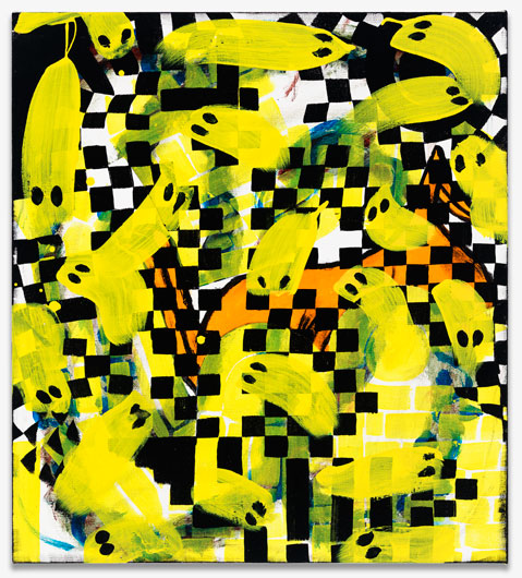Charline von Heyl, Duck and Friends, 2014