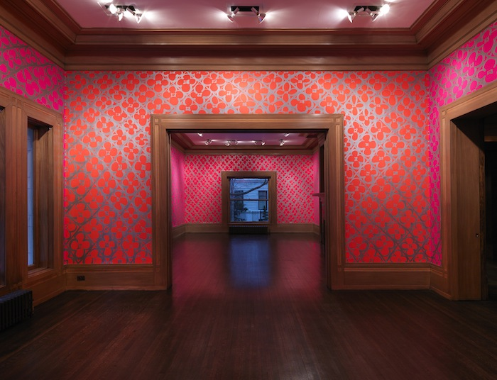 Installation view, Chromatic Patterns for the Graham Foundation Judy Ledgerwood,Graham Foundation,Chicago,IL, 2014