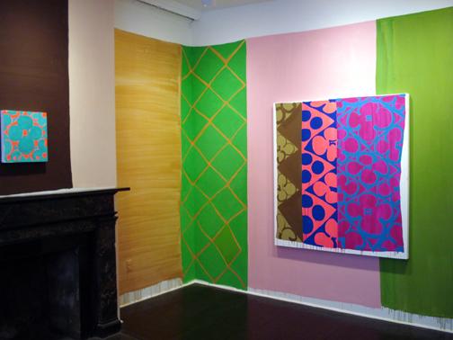 Judy Ledgerwood, Installation view