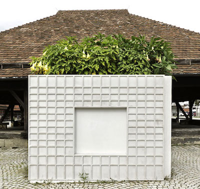Installation view,Investment Bank Flowerpots