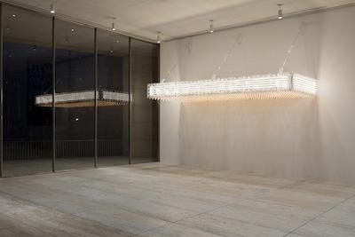Exhibition view of Philippe Parreno: La levadura y el anfitrión, Museo Jumex, Mexico City, 2017. ©Philippe Parreno. Photo by Andrea Rossetti.