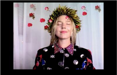 Bora Bora Roses, 2014, webcam video, 36 seconds