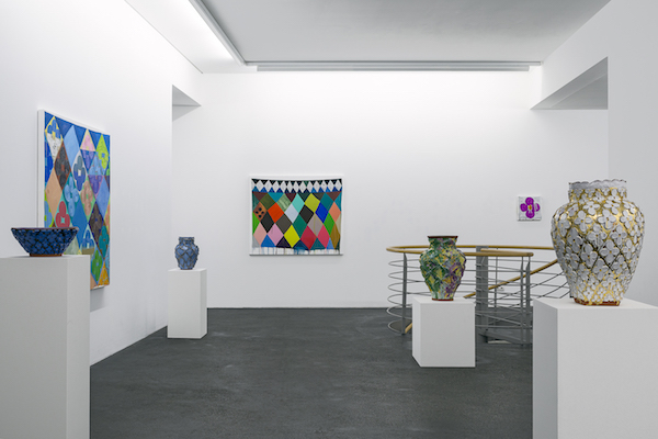 Judy Ledgerwood, Hausler Contemporary, New York. 2017.