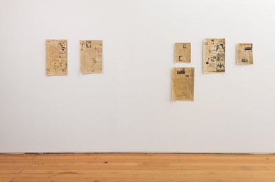 FIONA CONNOR Ma #4 – 9 (Newspaper article featuring John McLaughlin from the Los Angeles Times) 1956-87, 2016