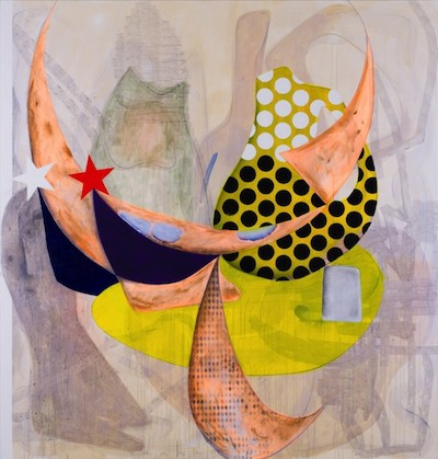 Charline von Heyl, Spoudaiogeloion, 2015.
