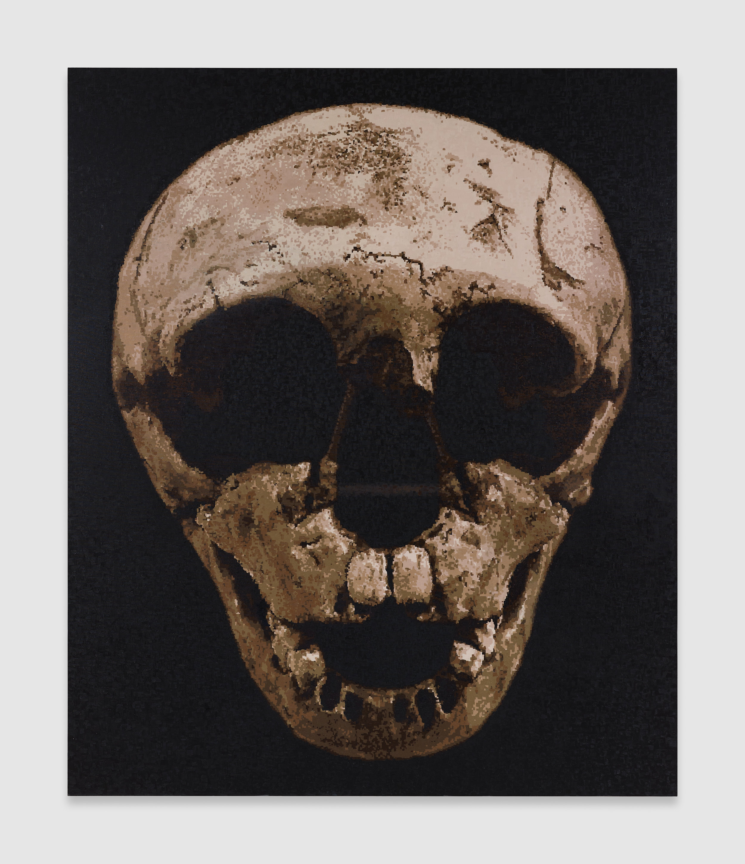 Blake Rayne, Skull Steppe, 2018, Oil on linen