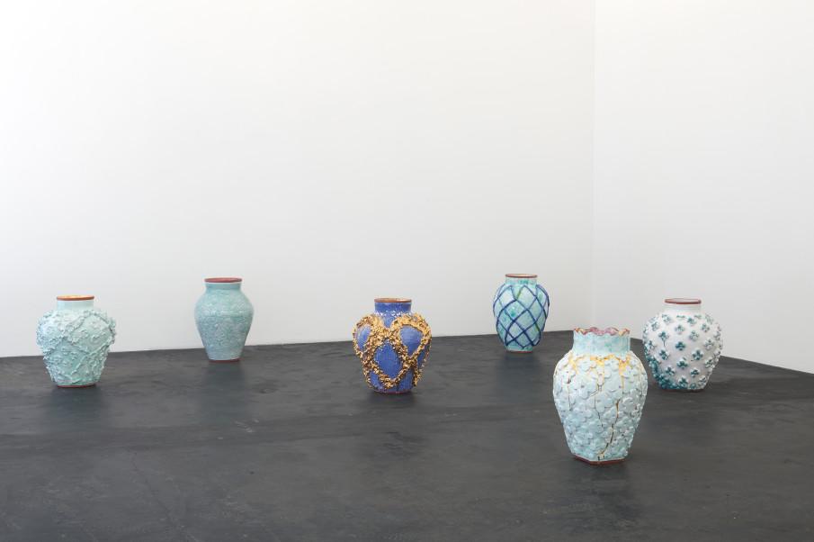 Judy Ledgerwood, Beyond Beauty, Installation view Häusler Contemporary Zürich, 2019 | photo: Mischa Scherrer