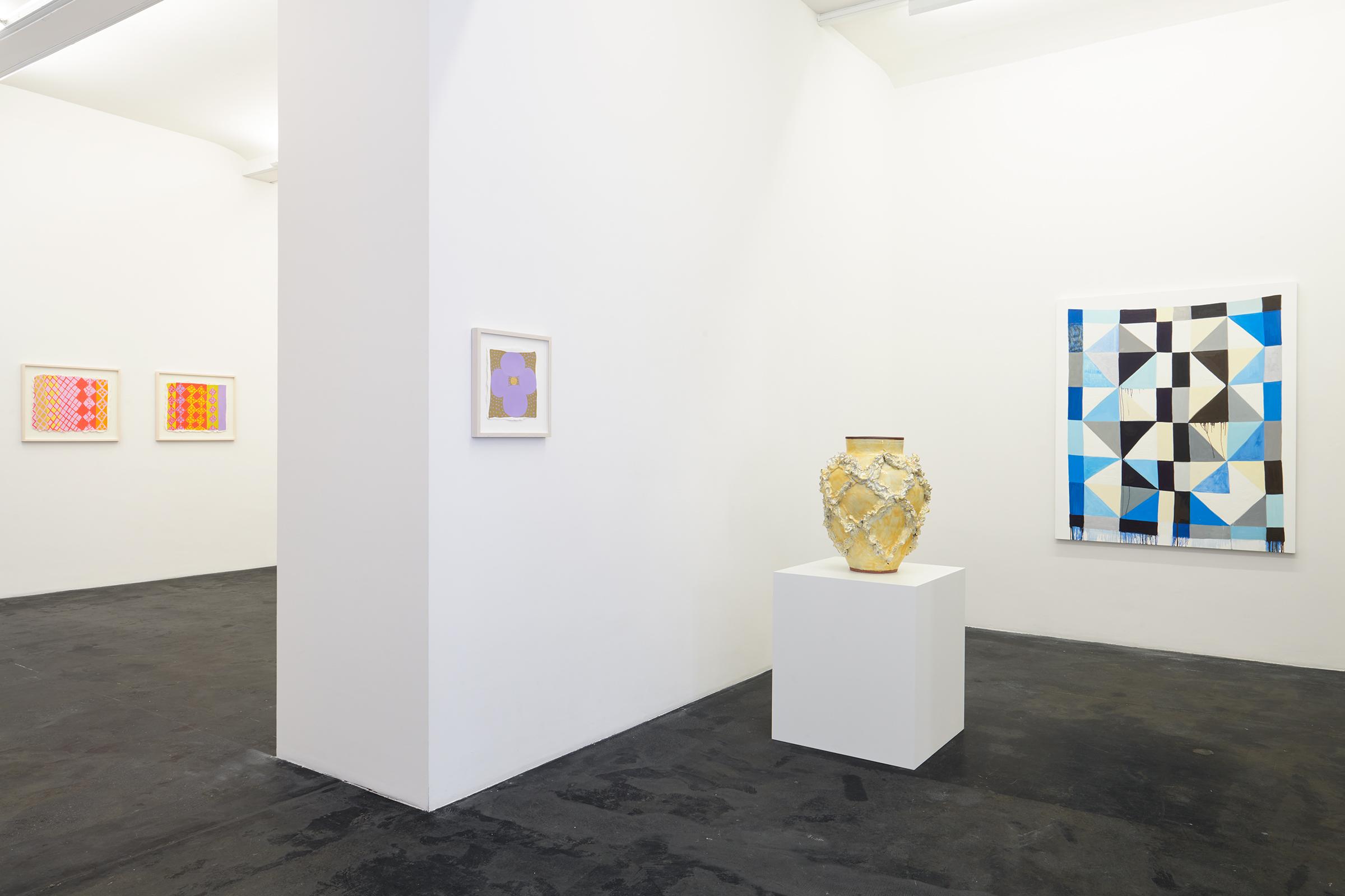Judy Ledgerwood, Beyond Beauty.  Installation view Häusler Contemporary Zürich, 2019 | photo: Mischa Scherrer