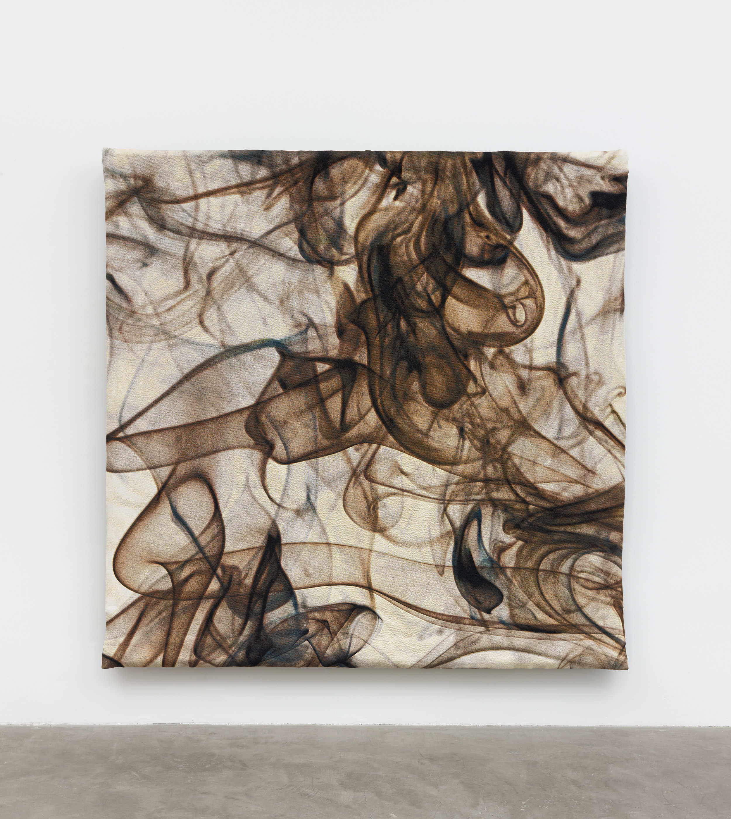 Pae White,  Vivo Qui , 2019, cotton, polyester and trevisa