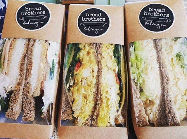 Wondering what to have for lunch? Our sandwiches are available daily & can also be found at @yarra_street_quartermasters. Delish!
