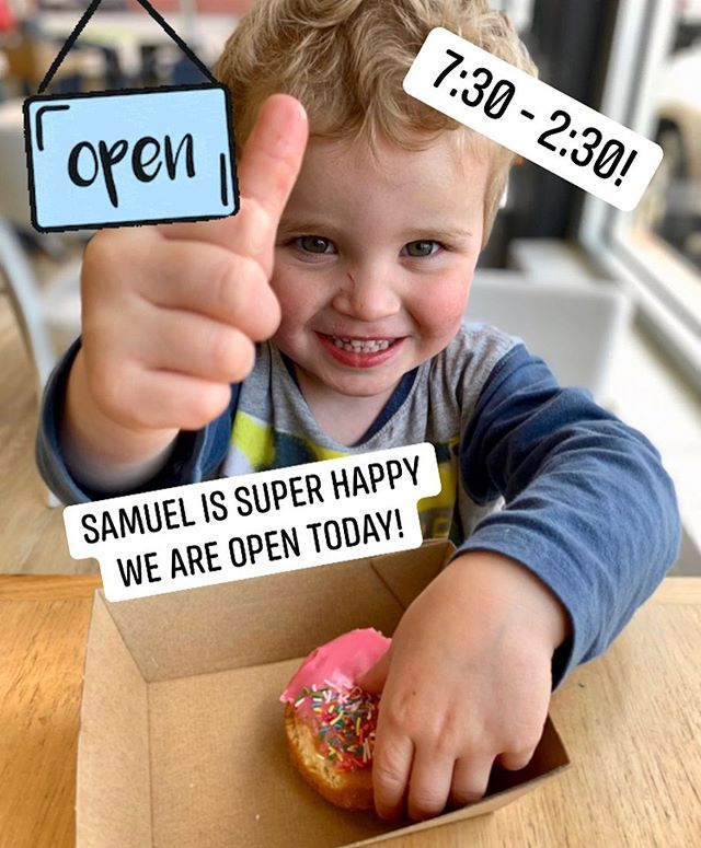 Need coffee on your grand final day off? We are open today! 7:30 - 2:30pm