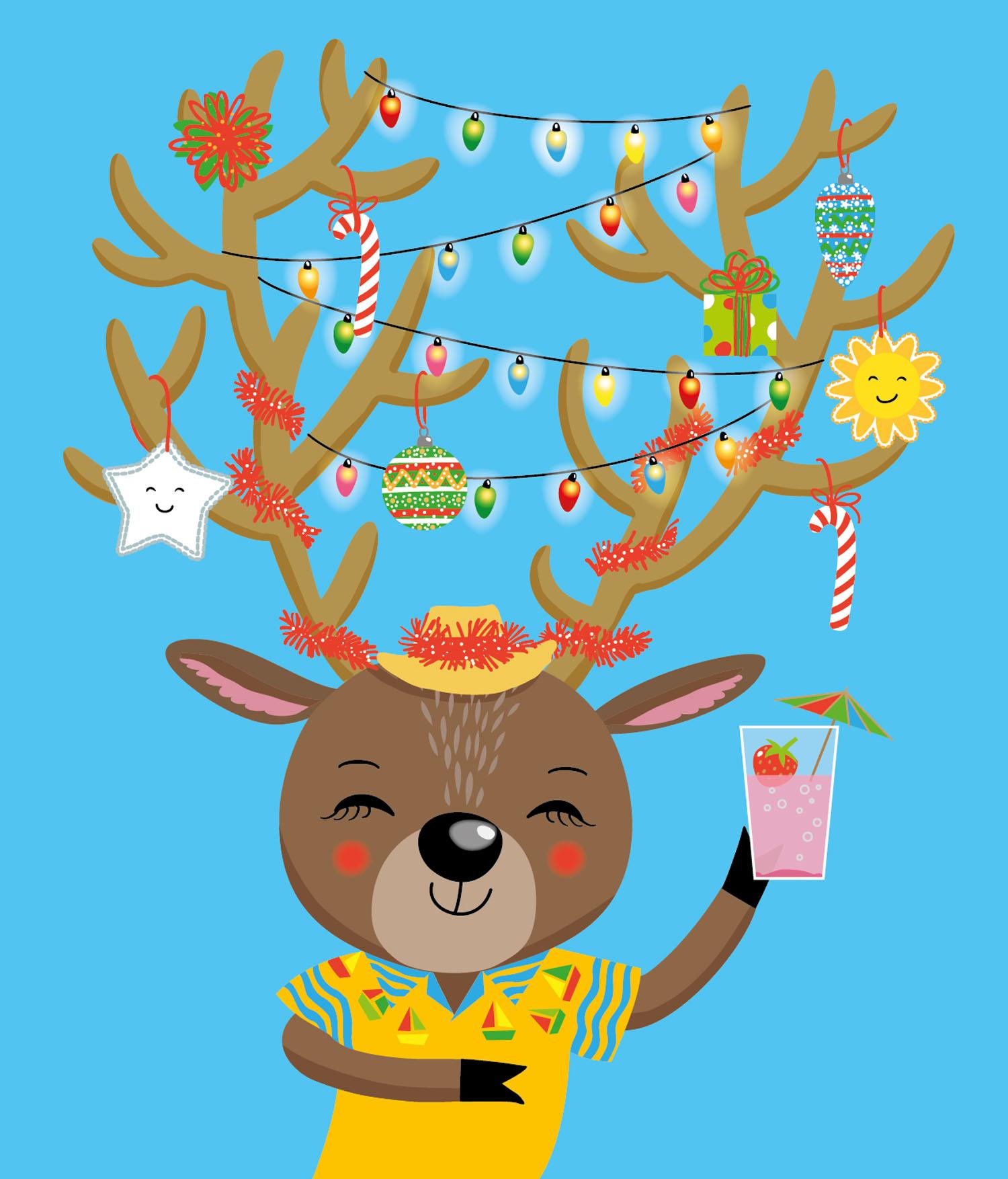 Southern Hemisphere Reindeer
