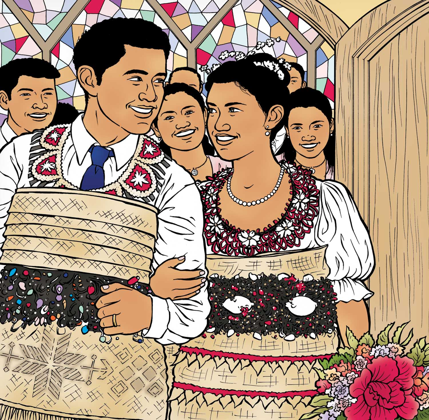 Tongan Wedding
